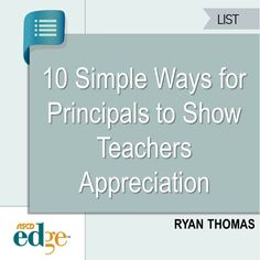Show your teachers that you care with these simple strategies.