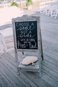 Wedding Signs for ceremony