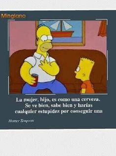 Frase de Homero Simpson