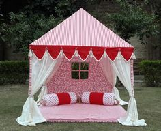 Indian Tents by Sangeeta International: Gifting Ideas for Kids on Christmas Pvc Tent, Kids Teepee Tent, Play Tents, Teepees, Trampoline Tent, Party Tents For Sale, Tent Sale, Tent House For Kids, Moroccan Tent