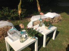 Matrimonio Country chic allestimenti con balle di fieno - Amiche della Sposa