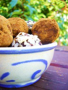 Trüffel paleó módra – Süteményeskert Paleo, Muffin, Breakfast, Tableware, Dessert Ideas, Morning Coffee, Dinnerware, Tablewares, Beach Wrap