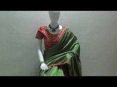 Green Silk Designer Saree with Red Desgner Blouse Ethnic Sarees, Indian Sarees, Best Designer Sarees, Plain Saree, Simple Sarees, Green Saree, Art Silk Sarees, Latest Sarees, Party Wear Sarees