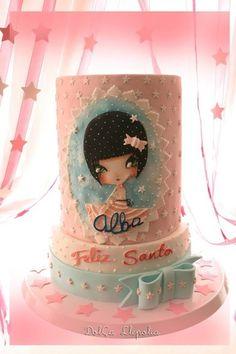 Tarta santo Alba - by PALOMA SEMPERE GRAS @ CakesDecor.com - cake decorating website
