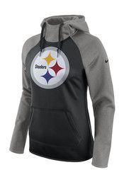 Nike Pittsburgh Steelers Womens Black Tailgate All Time Hoodie