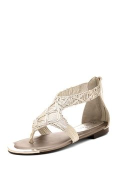 Would be perfect with a brightlytwisted tiered dress! -Too Zeus Sandal