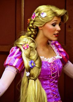 Rapunzel Hair idea