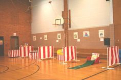 School Carnival Game Booth Dividers