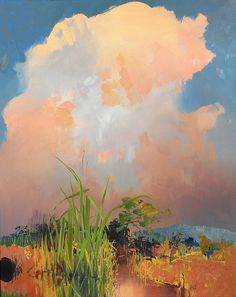 "Randall David Tipton (American)  ""Wetlands Somewhere"""