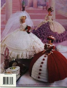 Barbie Crochet Patterns - D Simonetti - Picasa Webalbums