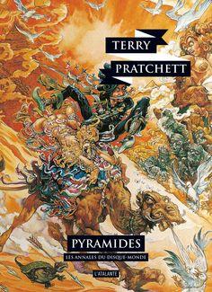 Nouvelle édition ! Pyramides de Terry Pratchett, Les Annales du Disque-monde (livre 7, avril 2015) ©Josh Kirby / Leraf