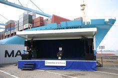 Maiden trips en scheepsdoop ceremonies voor de scheepvaart.