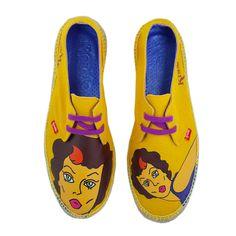 EStas son mis #espadrilles preferidas y las que llevo puestas. Me encantan. Las puedes comprar en www.espadrilleskissme.com