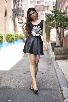 Daisy Spade Sly Fever Skater Skirt