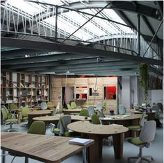 A habitat for social innovation that borrowed from the best of a serviced office, an enterprise agency, a friendly café and a political arts space. http://amsterdam.impacthub.net (Amsterdam)