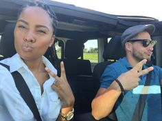 Top down cruisin' with my man  everything.  S U M M E R. ❤️ @ColorBlindLove!♡    More pictures here : http://whiteboysdatingblackgirls.tumblr.com/