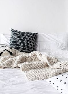 Woolie knits and textured cushions