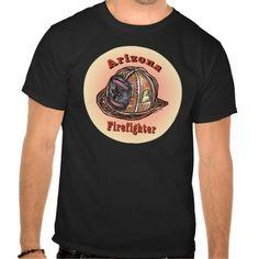 Arizona Firefighter mens T Shirt, Hoodie Sweatshirt