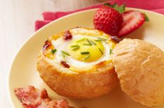 Cheesy Egg-In-A-Bowl