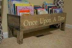 Book storage for kids room