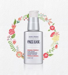 Best for Curly Hair | John Frieda's Frizz-ease Original Serum is a godsend for curly hair. A small amount goes a long way.