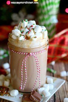 Eat Cake For Dinner: Salted Caramel Hot Chocolate