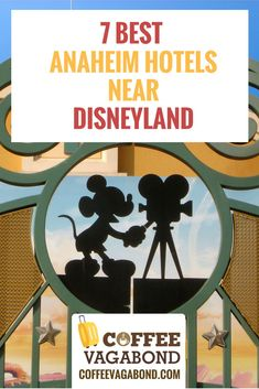 "Going to Disneyland? This list of 7 ""secret"" Anaheim hotels near Disneyland, are literally a 5 minute walk to the main gate of Disneyland. Local pass holders know about these, but now you can too! Disney Hotels, Hotels Close To Disneyland, Disneyland Secrets, Disneyland Resort, Disney Vacations, Disney Trips, Disneyland California Adventure, Disney California, Anaheim California"