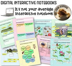 Insect Unit for 4th or 5th grade.  All the fun and engagement of an interactive notebook, but without all the cutting, pasting, folding, and paper waste. It's all on the computer!  Students get to organize and label a model of the butterfly life cycle, define vocabulary, label anatomy, and so much more!