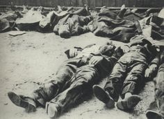 Civilians murdered by the SS in the Wola massacre. Lasting from the 5th to the 12th of August. The death toll was 10,000 on the 5th of August alone. - Huge Collection Of The Warsaw Uprising Photos 18 Best of Web Shrine