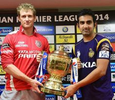 Our wait is finally over! Tonight is our final battle for the cup! Bring it home boys! KXIPvsKKR