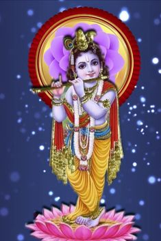 On the auspicious day of Vaikunta Ekadashi, wash off all sins & perform Dashavatar Homam that acts as a shield to protect you from all types of trouble. Special Good Morning, Sunday Special, Happy Sunday, Android Wallpaper Space, Screen Wallpaper, Cute Krishna, Radha Krishna Love, Krishna Flute, Lord Krishna Hd Wallpaper