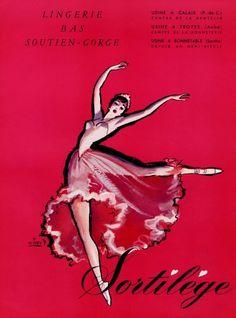 Sortilège Lingerie, 1957