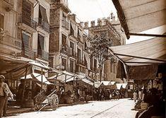 Plaza del Mercado. Años 20
