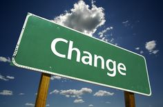 How You Change Is The Change