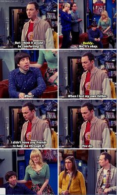 the big bang theory and then everyone watching cried