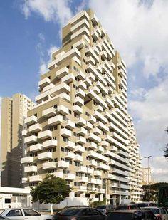 Office towers in São Paulo, Brazil.