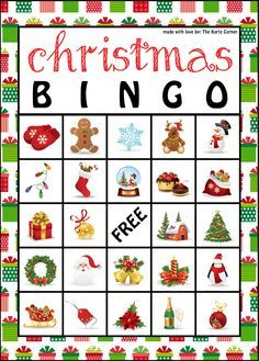 the kurtz corner free printable christmas bingo cards more