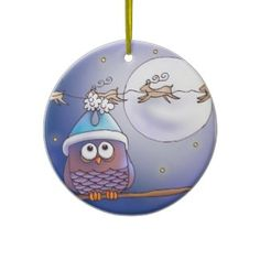 Owls Ornaments, Owls Ornament Designs for any Occasion