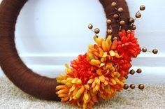 Fall/ Autumn DIY Wreath