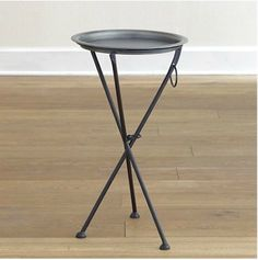 Tripod table for those tiny places