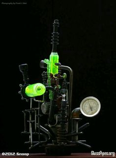 One bad ASS steampunk oil rig!¡  Follow Us For ALL Things WEED