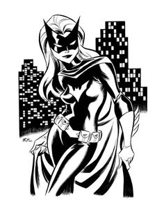 BatWoman Art by Bruce Timm