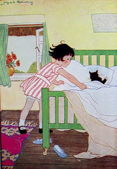Illustration from Milly-Molly-Mandy, written and illustrated by Joyce Lankester Brisley