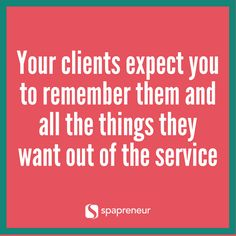 The Spapreneurs are back and have lots of great stories and tips for managing client expectations!