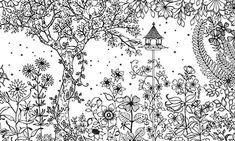 Secret Garden Coloring Book Best Of Amazing Secret Garden Coloring Pages Secret Garden Coloring Book, Garden Coloring Pages, Free Coloring Pages, Printable Coloring, Anatomy Coloring Book, Coloring Books, Puppy Drawing, Garden Drawing, The Secret Book