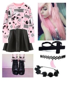 Pastel goth pastels and møre pastel goth outfits, pastel got Grunge Outfits, Outfits Otoño, Cool Outfits, Fashion Outfits, Alternative Outfits, Alternative Fashion, Trend Council, Pastel Goth Fashion, Kawaii Fashion
