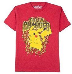b1e00190 Pokemon Boys' Pokémon Pikachu Graphic T- Shirt Shirt Maker, Pokemon Go,  Pikachu