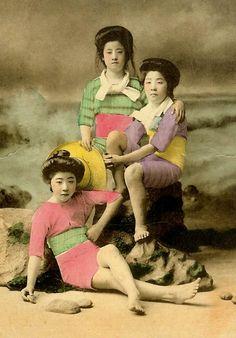Geisha en maillot de bain – 20 photos du Japon à l'ère Meiji