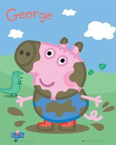 George Pig Da Familia Peppa Pig e Massinha de modelar Play doh !