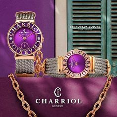 """304 Likes, 4 Comments - Charriol (@charriolofficial) on Instagram: """"Capturing the glamour of the #FrenchRiviera, the latest #Charriol ST-TROPEZ™ #watches will bring…"""""""